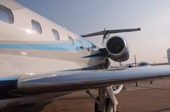 Jato do legado 650 de Embraer Foto de Stock Royalty Free