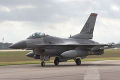 Jato F/16 Imagens de Stock Royalty Free