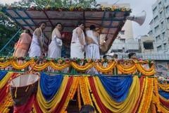 Jatra de Rath em Kolkata, Bengal ocidental - Índia fotos de stock royalty free