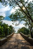 Jatujak Park. One of the famous park at the heart of Bangkok Thailand stock image