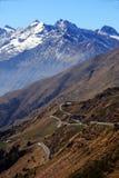 Jaufenpass/Passo di Monte Giovo (côté sud) images libres de droits