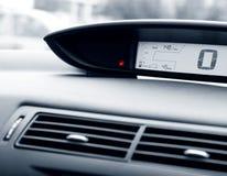 Jauge d'essence de véhicule images stock