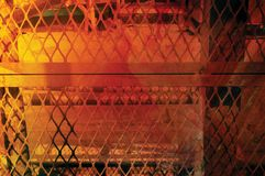 Jaula anaranjada Imagenes de archivo