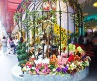 Jaula de la flor Imagen de archivo libre de regalías
