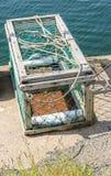Jaula de la pesca Imagen de archivo