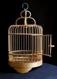 Jaula de pájaro Foto de archivo