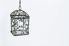 Jaula de pájaro Imágenes de archivo libres de regalías