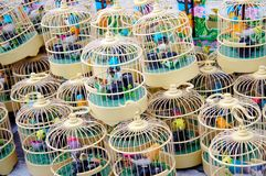 Jaula de pájaro Imagenes de archivo