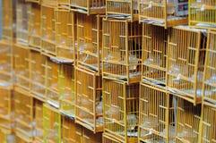 Jaula de pájaro china Fotografía de archivo