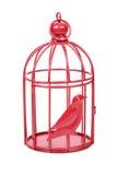 Jaula de pájaros Imagen de archivo libre de regalías