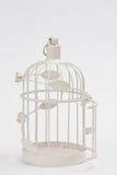 Jaula de pájaros del vintage Imagen de archivo libre de regalías