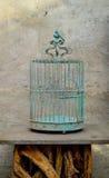Jaula vacía Foto de archivo libre de regalías
