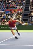 Jaume MUNAR return a ball Stock Image