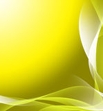jaune abstrait de fond Photos libres de droits