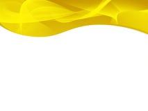 jaune abstrait de fond Photographie stock