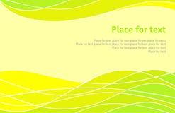 jaune abstrait de fond illustration stock