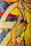 jaune abstrait de noir de fond photo libre de droits