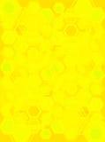 Jaune allé hexa Image libre de droits