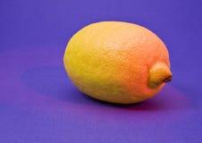 jaune citron Photos libres de droits