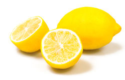 jaune citron Photographie stock
