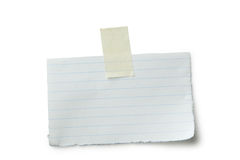 jaune collant d'ombre de circuit papier de note de découpage Image libre de droits