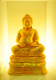 Or jaune de Bouddha Images libres de droits