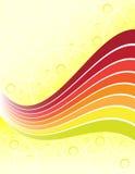 jaune de fond illustration de vecteur
