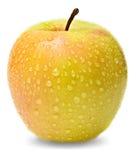 jaune de pomme Images libres de droits