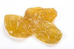 jaune de raisins secs Images stock