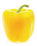 jaune doux de poivre Photographie stock