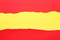 Jaune et rouge images libres de droits