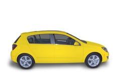 jaune hybride compact images libres de droits