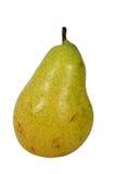 jaune mûr de poire fraîche Photographie stock libre de droits