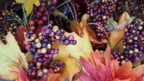 Jaune, orange, feuilles d'automne images libres de droits