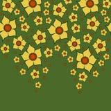 jaune prêté de lis Photo libre de droits