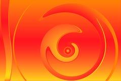 Jaune rouge abstrait illustration libre de droits