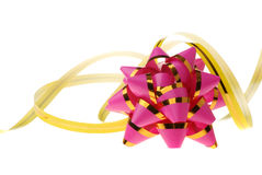 jaune rouge d'ornement décoratif de fond Images stock