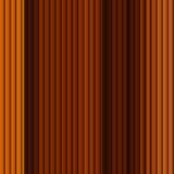 Jaune sans couture de rayure de Brown de modèle de fond Images stock