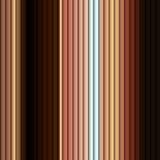 Jaune sans couture de rayure de Brown de modèle de fond Image libre de droits
