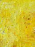 Fond jaune de peinture Photo stock
