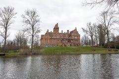 Jaunmokas-Schloss Lizenzfreies Stockfoto