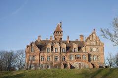 jaunmoku Λετονία κάστρων Στοκ εικόνα με δικαίωμα ελεύθερης χρήσης