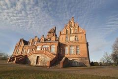 Jaunmoku castle in Latvia. Stock Photos