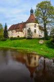 Jaunpils城堡,拉脱维亚 库存图片