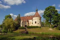 Jaunpils castle in Latvia. Royalty Free Stock Photography