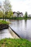 Jaunpils-Schloss, Lettland Lizenzfreies Stockfoto