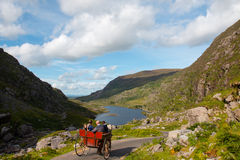 Jaunting Car In Gap Of Dunloe Stock Photography