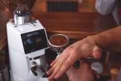 Java新鲜的碎豆  库存照片