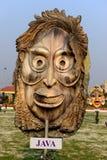 Java面具 图库摄影