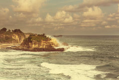 Java beach Stock Photo